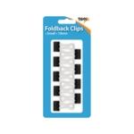 Fold Back 19mm Clips Pk108