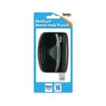 Medium Metal 2 Hole Punch Pk6