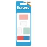 Assorted Design Erasers Pk60