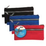 Chunky Zip Pencil Case Pack of 12