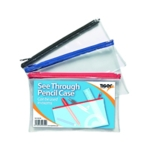 Small Exam Pencil Case Pack of 12
