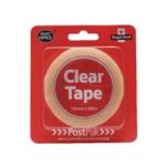 Postpak Clear Stick Tape 66m Pk12