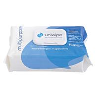 Uniwipe Multipurpose Wipes Pk100