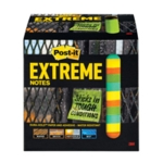 Post-it Extreme 76x76mm Assorted Pk12