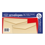 DL Manilla Gmd Envelopes Pk1000