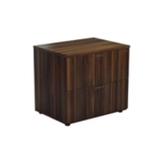 FF Jemini Walnut 2 Drawer Side Filer