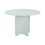 FF Jemini White D1200 Meeting Table
