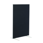 FF Jemini Black 1200x800mm Floor Screen
