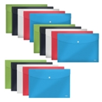 Rexel Choices Popper Wallet Ast P5 3For2