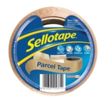 Sellotape Brown Parcel Tape 48mmx50m 8Pk