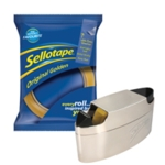 Sellotape Golden Tape 24mm FOC Dispenser
