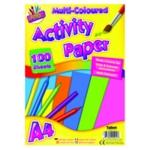 Art Box Activity Paper A4 Assorted Pk12