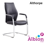 Althorpe M/Back Conference Chair with cantilever base
