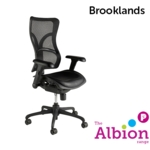Brooklands High Back Shaped Executive Mesh Chair