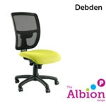 Debden High Back Operator Chair with Mesh Back