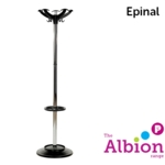 Epinal Chrome Hat and Coat Stand