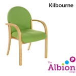 Kilbourne Beech Visitor and Conference Arm Chair