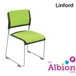 Linford Side Chair with fully upholstered seat and back