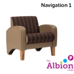 Navigation Armchair for Break -Out and Reception areas