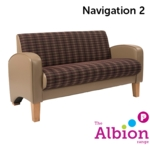 Navigation 2-Seater for Break -Out and Reception areas