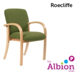 Roecliffe Visitor / Conference Arm Chair with Squared Back