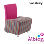 Salisbury Reception and Break -Out Chair without arms