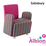 Salisbury Reception and Break -Out Armchair