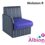 Wollaton Reception and Break -Out Chair with Right Arm
