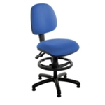 Windsor Medium Back Draughtsman Chair on glides