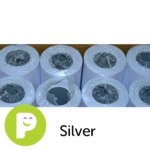Poster Paper Rolls 760mm X 10M Silver