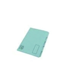Elba Tabbed Folder 250gsm Blue Pk100