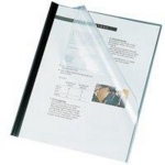 Binding Covers A4 180 Micron Clear Pvc