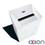 Exilon Pro 145S Shredder - H/Duty, Wide Entry, Strip Cut
