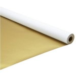 Poster Paper Rolls 760mm X 10M Gold