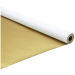 Pearlescent Display Roll 700mm X 4M Gold