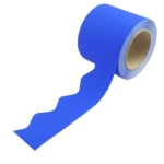 Border Rolls (Poster Paper) Scalloped Blue