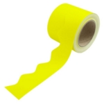 Border Rolls (Poster Paper) Scalloped Yellow
