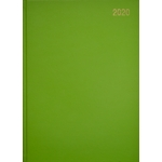 A4 Page/Day Diary 2020 Lime Green