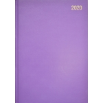 A5 Page/Day Diary 2020 Mauve