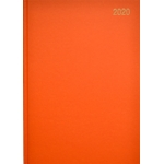 A5 Page/Day Diary 2020 Orange