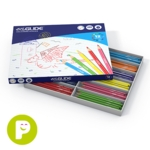 Eziglide Colouring Pencils Assorted Pack of 288