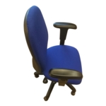 Windsor Highback Op Chair C/W Height Adjustable Arms