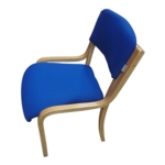 Mercury Wood Frame Conference /Visitors Chair