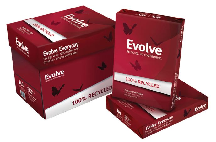 Evolve 80gsm Recycled Copier A4