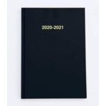 2020/21 ACADEMIC Diary A4 Page/Day BLACK