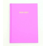 2020/21 ACADEMIC Diary A4 Page/Day PASTEL PINK