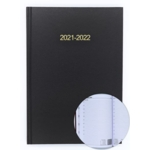 2020/21 ACADEMIC Diary A5 Page/Day BLACK