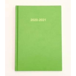2020/21 ACADEMIC Diary A5 Page/Day LIME GREEN