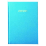 2020/21 ACADEMIC Diary A5 Page/Day SKY BLUE