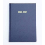 2020/21 ACADEMIC Diary A5 Week/View BLUE